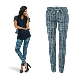 CAbi Grid Skinny Jeans Style# 3047
